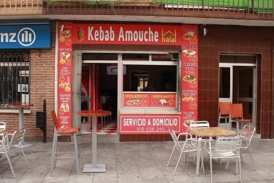 Carta Digital QR - Kebab Amouche - Becerrill
